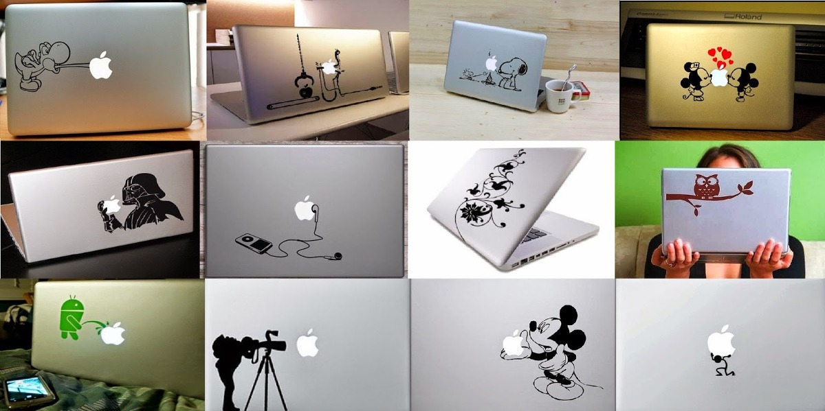 Adhesivos vinilos sticker decorativos para pared pc o for Stickers decorativos