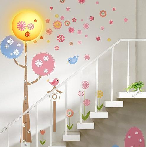 adhesivos y lámpara led niteangel®spring-lovable(110 vca)
