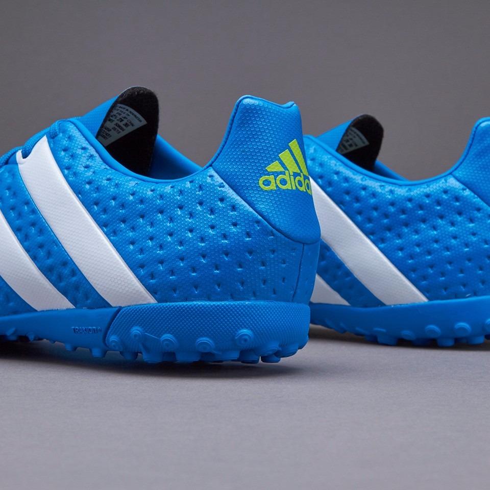 adidas Ace 16.4 Tf Tenis Futbol Turf Sintetico Azul Adulto ... 3f72dd9677a43