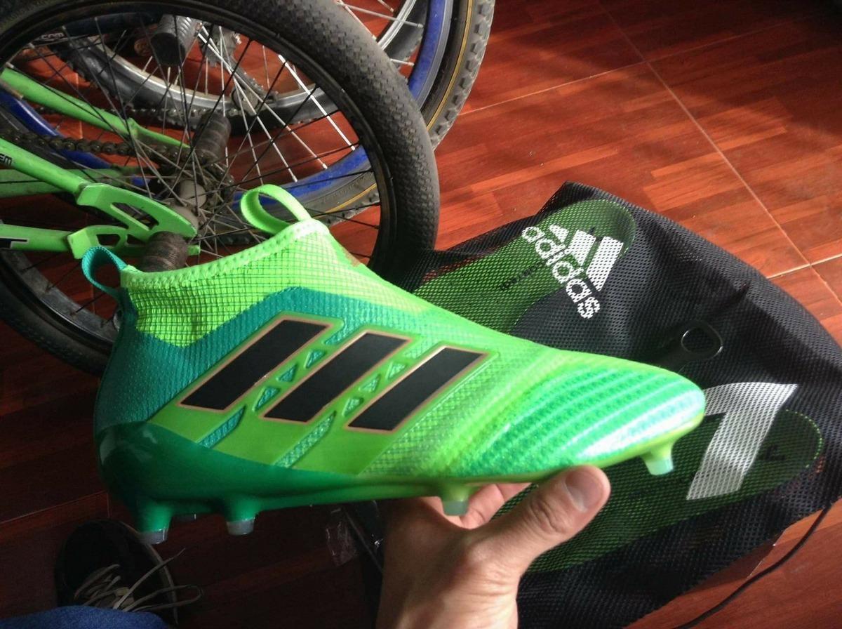 adidas Ace 17+ Purecontrol Verdes 27cm Originales d791916364366