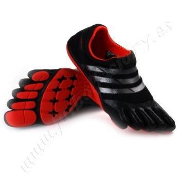 Correr Descalzo De Adidas Dedos Entrenador Zapatos Adipure 5 wXTCxZq