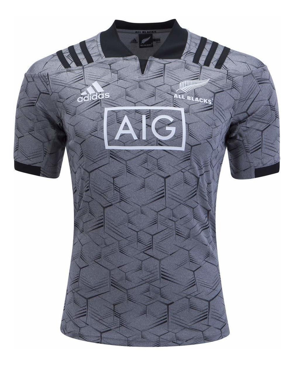 He aprendido Festival pecado  adidas All Blacks - Camiseta De Rugby, Color Gris - U$S 150,00 en Mercado  Libre