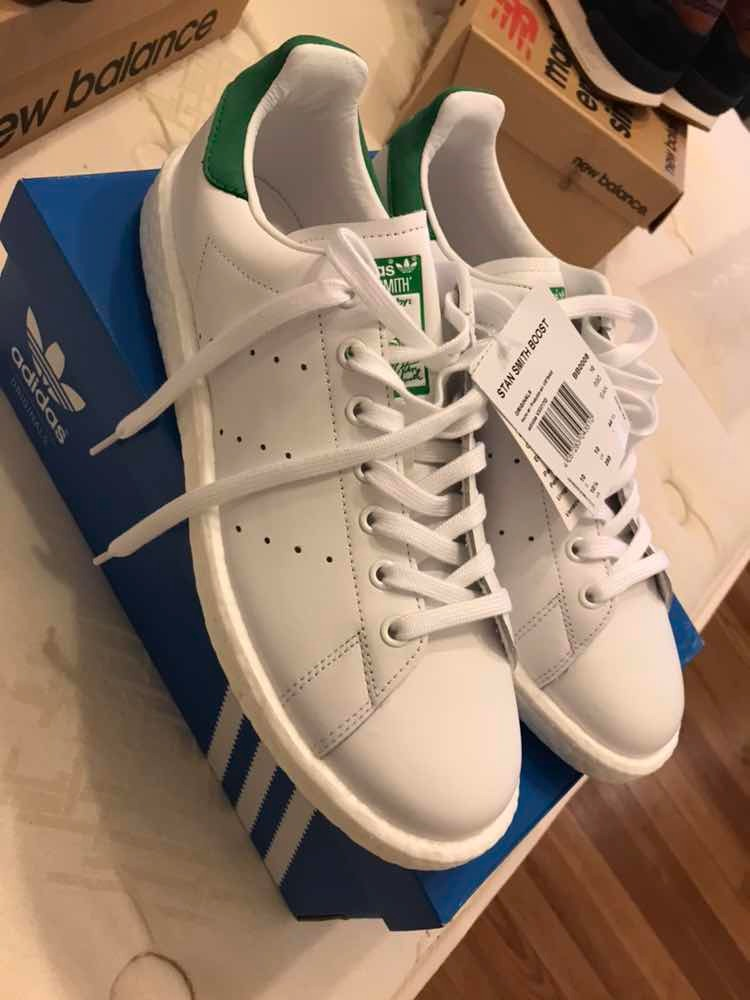 designer fashion classic recognized brands adidas Atan Smith Boost 43