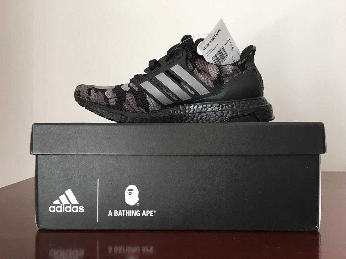 f955220508c09 adidas bape x adidas ultraboost black. Carregando zoom.