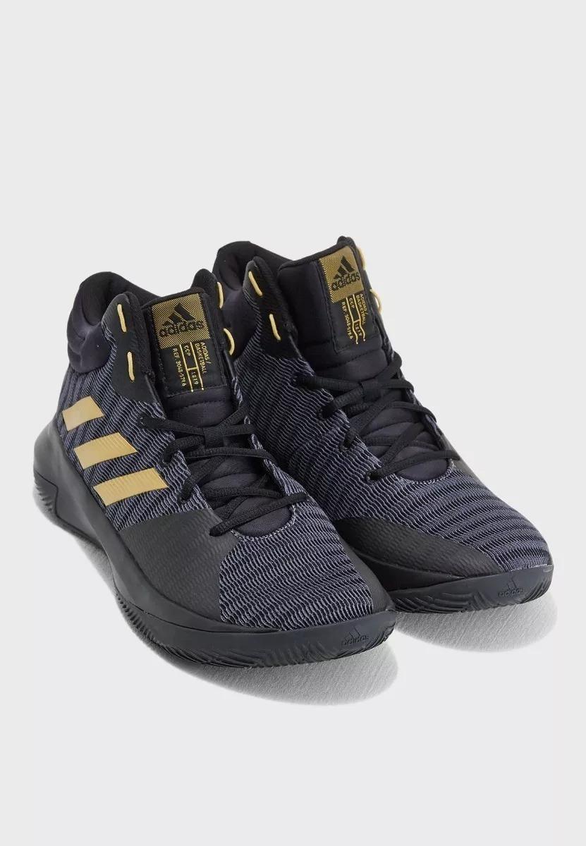 e85ca9f6e4fc Tenis Hombre adidas Pro Elevate 2018 Basquet Negro Original ...