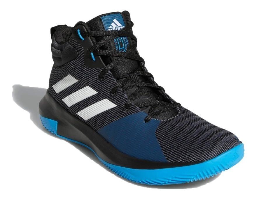 Basquet Azul Bota Elevate Pro Adidas Hombre Negro VqMUzpS