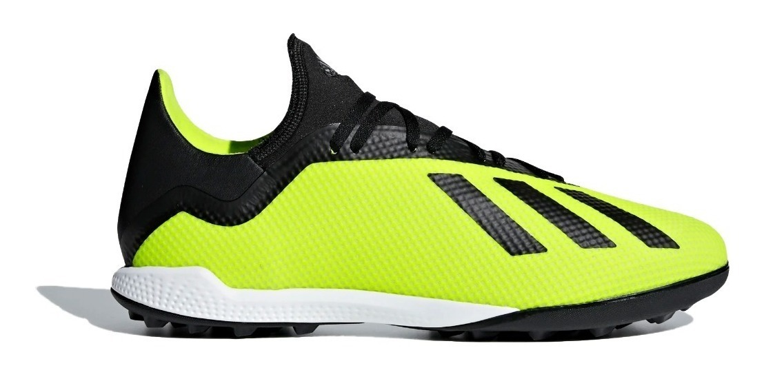 Botín Tf 18 Hombre 3 Negro Fútbol Amarillo adidas Tango X Jcul1FKT53