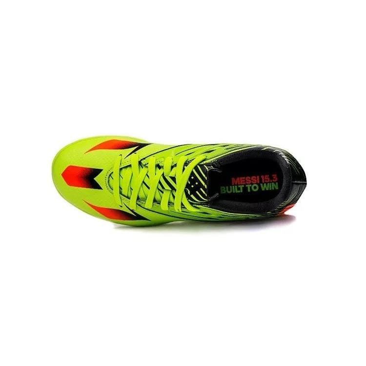 watch ab7db 2b90e adidas botin futbol niño messi 15.3 tf verde