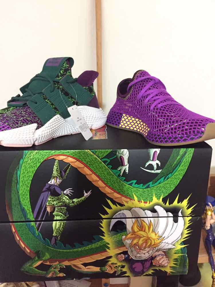 more photos 711a8 1c472 adidas cell dragon ball z prophere. Cargando zoom.
