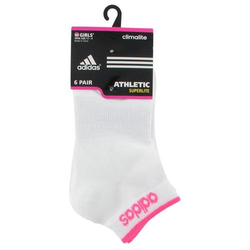 adidas chicas superlite calcetines de corte bajo (paquete de