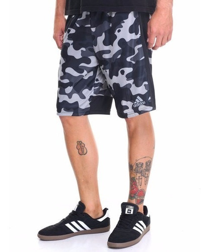 adidas clima core camo shorts para caballero camuflaje