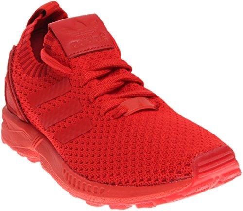 various colors 259f8 7ae57 adidas de los hombres zx flux primeknit correr zapatos rojo