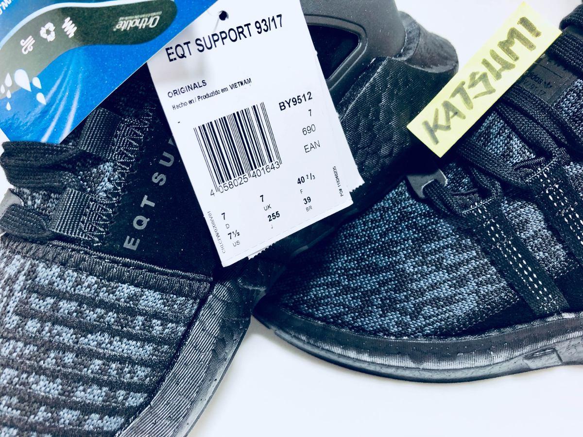 adidas Eqt 9317 Support Boost 9317 Black 39 Nmd Sem Juros
