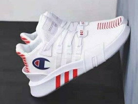 the best attitude de918 96711 adidas Eqt Bask X Champion Blancos