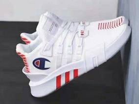 the best attitude dfd47 1edb3 adidas Eqt Bask X Champion Blancos