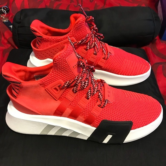 reputable site 82273 6b874 adidas Eqt Basketball Adv Red / Caballero Envío Gratis