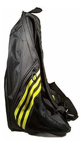 Adidas Estadio IV Backpack Navy//Shock Yellow