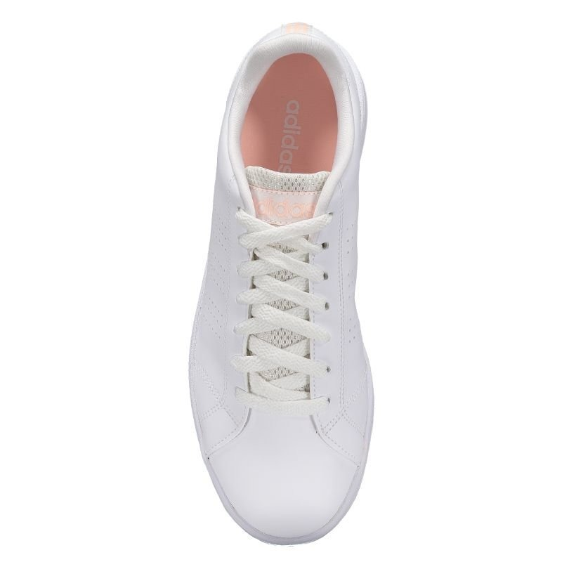 fc7bfd20b4f Carregando zoom... tênis adidas vs advantage clean feminino branco e laranja