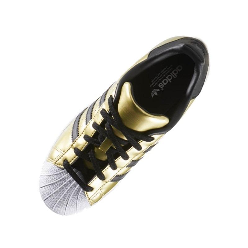 8732183a7b Tênis adidas Superstar Feminino Dourado - R  398