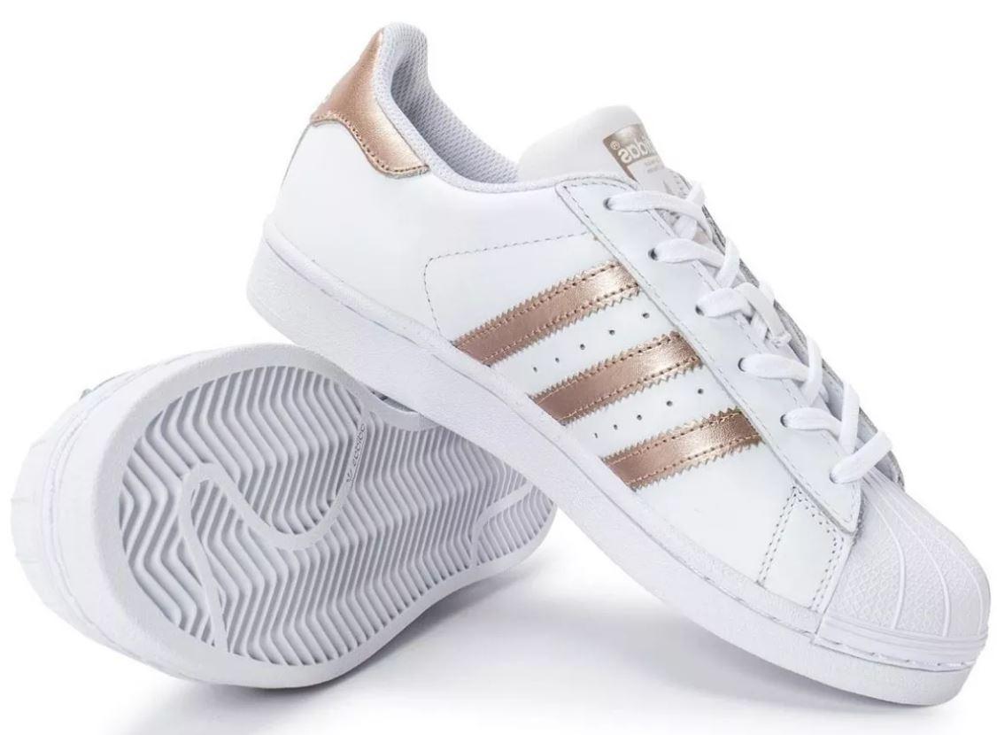 86449e6ee3b Tênis adidas Superstar Originals Feminino Oferta Top - R  289