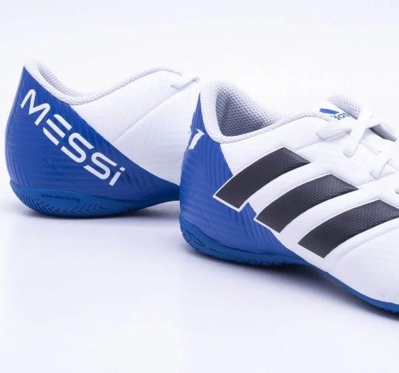 47be458c1de82 adidas futsal chuteira · chuteira adidas futsal nemeziz tango 18.4 messi ic  infantil. Carregando zoom.