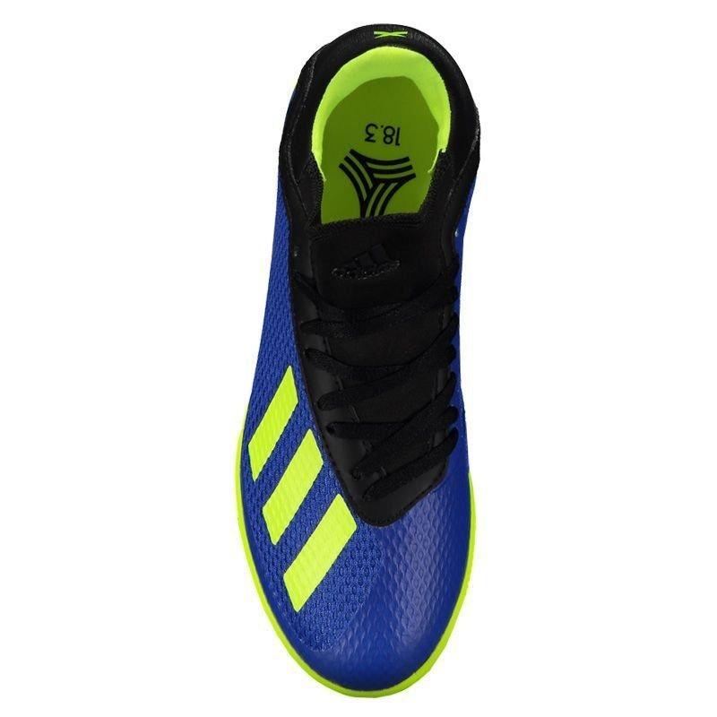 23f987ed65 Carregando zoom... chuteira adidas x tango 18.3 in futsal juvenil azul