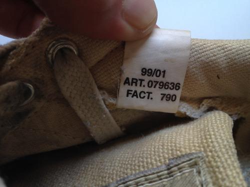 adidas gazelle hemp creme n40  frete grátis