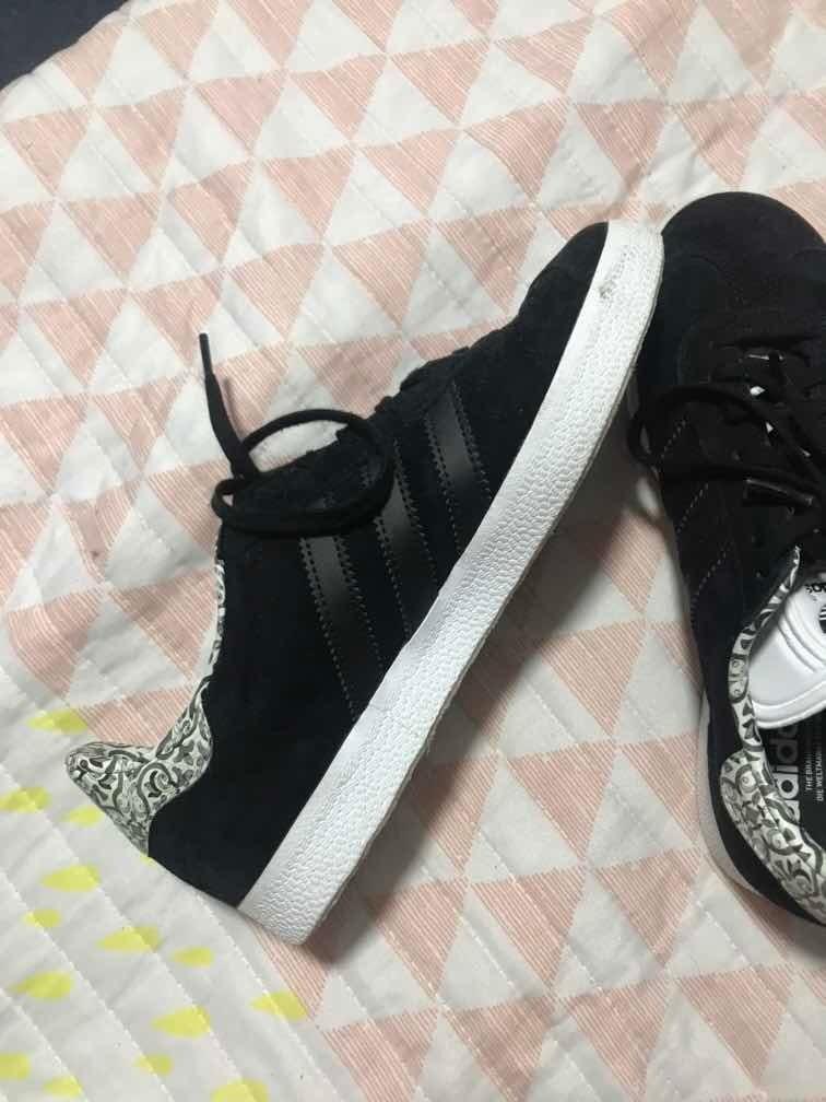 adidas gazelle negro 38