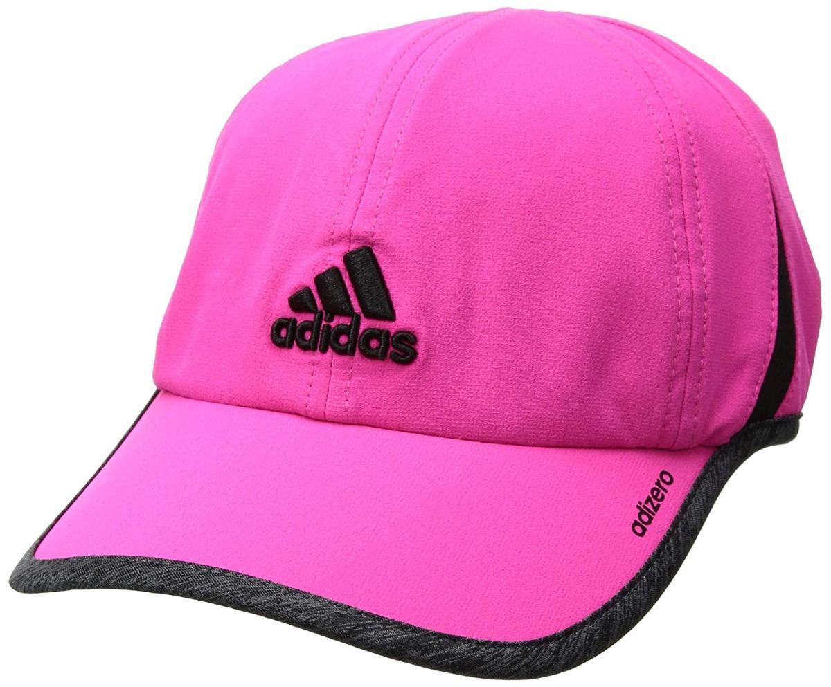 detailed look b7e8b e779b adidas gorra adizero ii mujer,shock pinkdark grey heather. Cargando zoom.