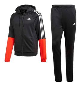 Hombre Capucha Re Adidas Negro Conjunto Focus Naranja xdBoeC