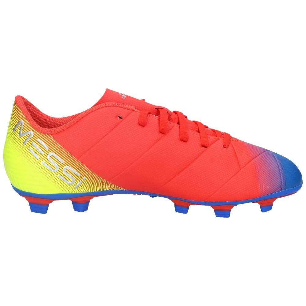 0f8587b6abd81 Cargando zoom... zapatos fútbol adidas hombre nemeziz messi 18-4 fxg  rojoazul
