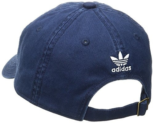 adidas hombres originals relaxed strap back cap, one size,