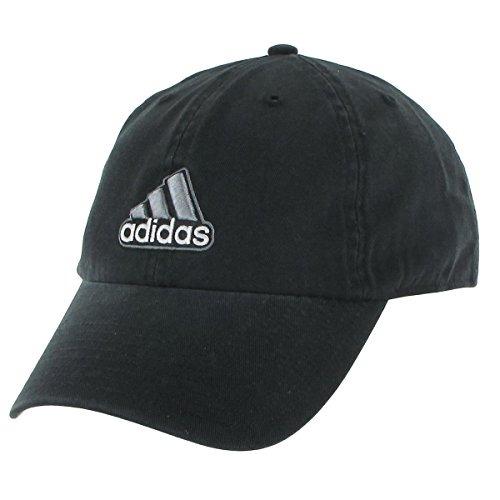 best service 36781 d5ced adidas hombres  s último relajado fit tapa , negro   gris ,