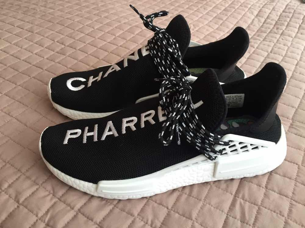 check out 7322b 79c7d adidas Human Race Nmd Boost Pharrell X Chanel (sample) 2018