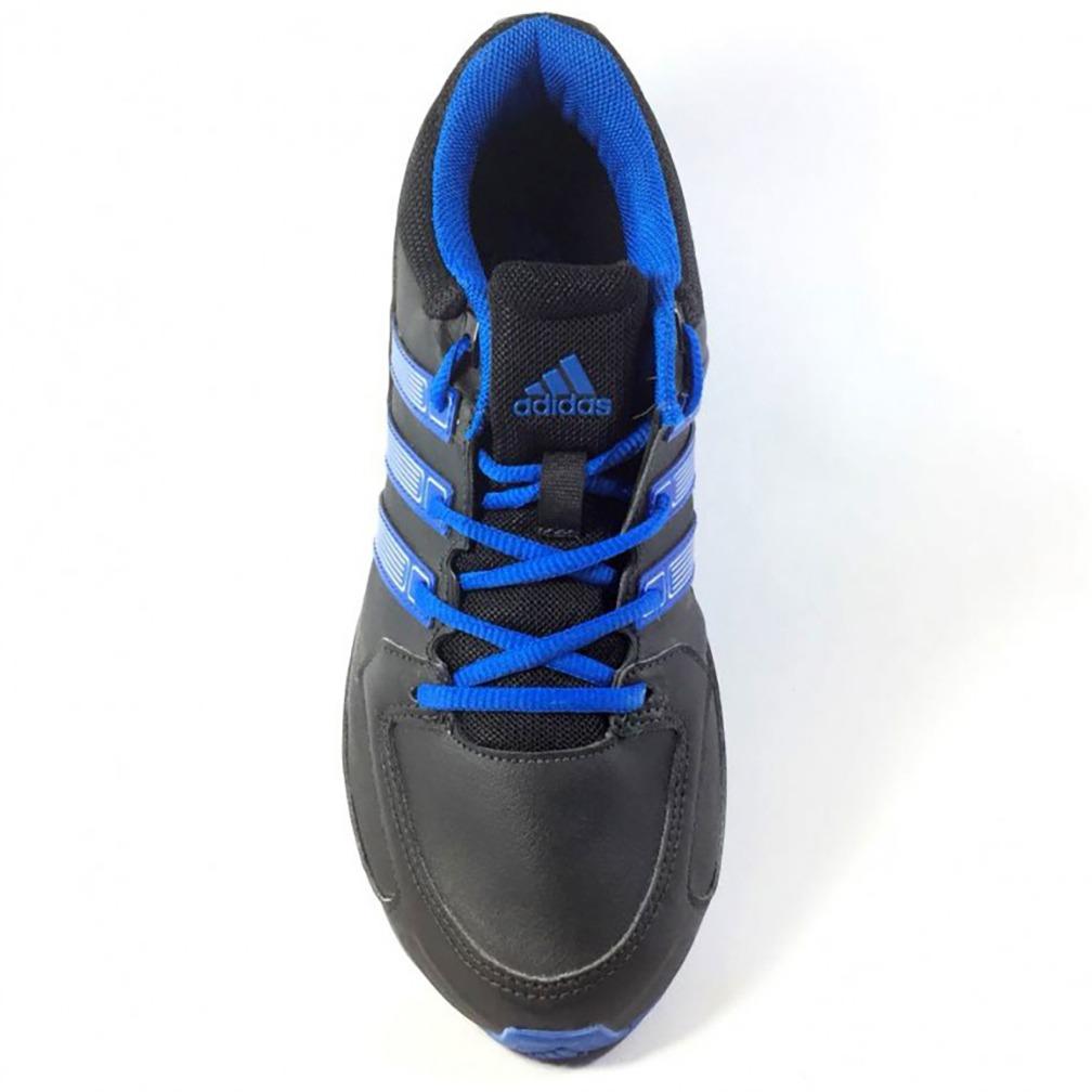 b6f7dc9d2d9 Carregando zoom... tênis adidas komet syn masculino preto e azul ...