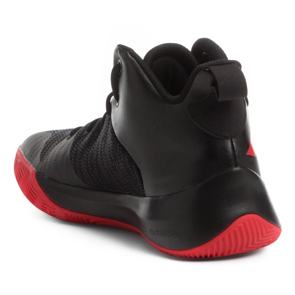 4646c62f9cf Carregando zoom... tênis adidas explosive flash masculino - preto vermelho