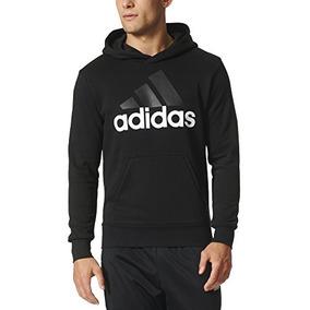 adidas Men 's Essential Linear Logo Sudadera Con Capucha, N