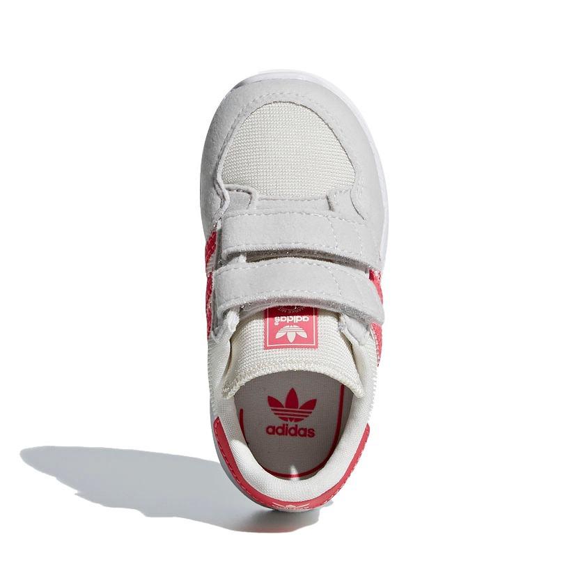 8bd779a59b2 Carregando zoom... tênis infantil adidas forest grove menina bege rosa  original