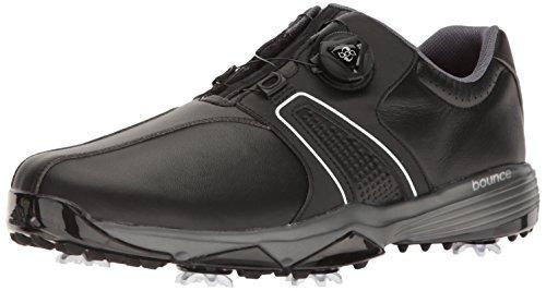 new styles 3aea6 ec197 adidas mens 360 traxion boa wd cblack para zapatos de golf,