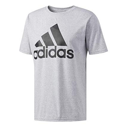 purchase cheap 89be3 741ef adidas mens badge of sport graphic tee