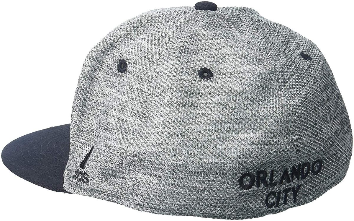adidas Mls Orlando City Sc Hombre Jaspeado Tela Gris Viso ... ee376a85093