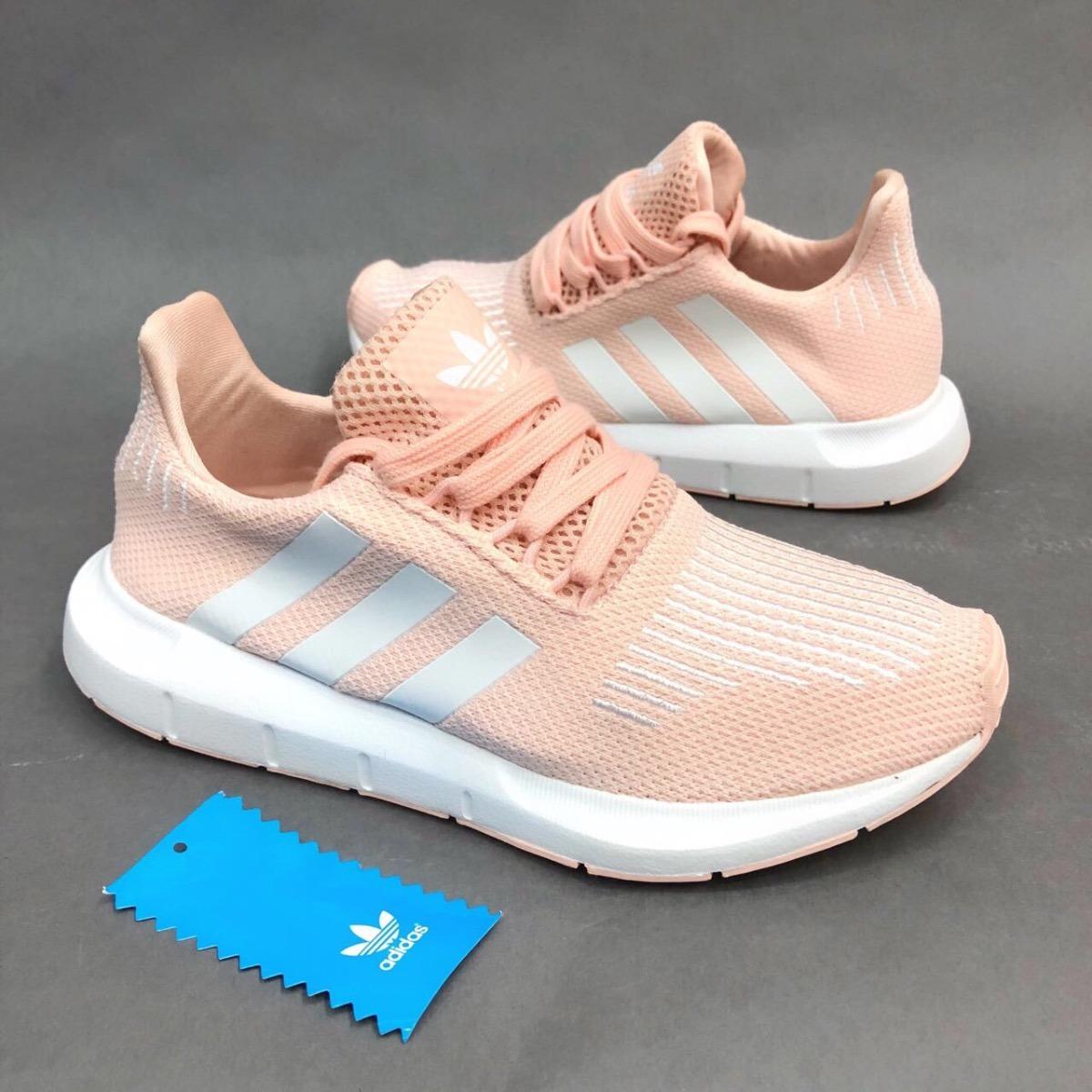 Tenis Zapatillas adidas Swift Run Rosada Mujer Env Gr -   164.900 en ... 57f3e380e16e2