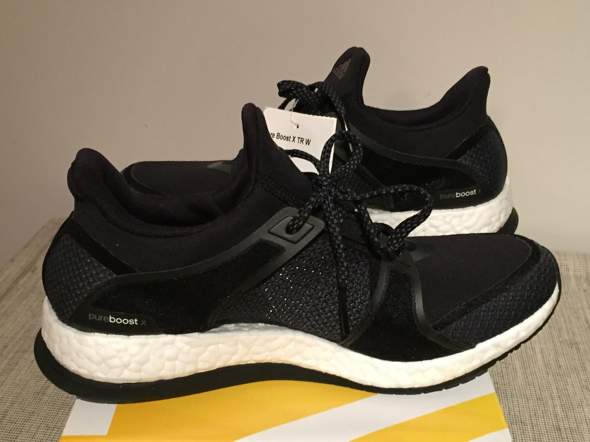 Zapatillas adidas Mujer Pure Boost Negras Talle 38 -   2.200 f33e85319af4a