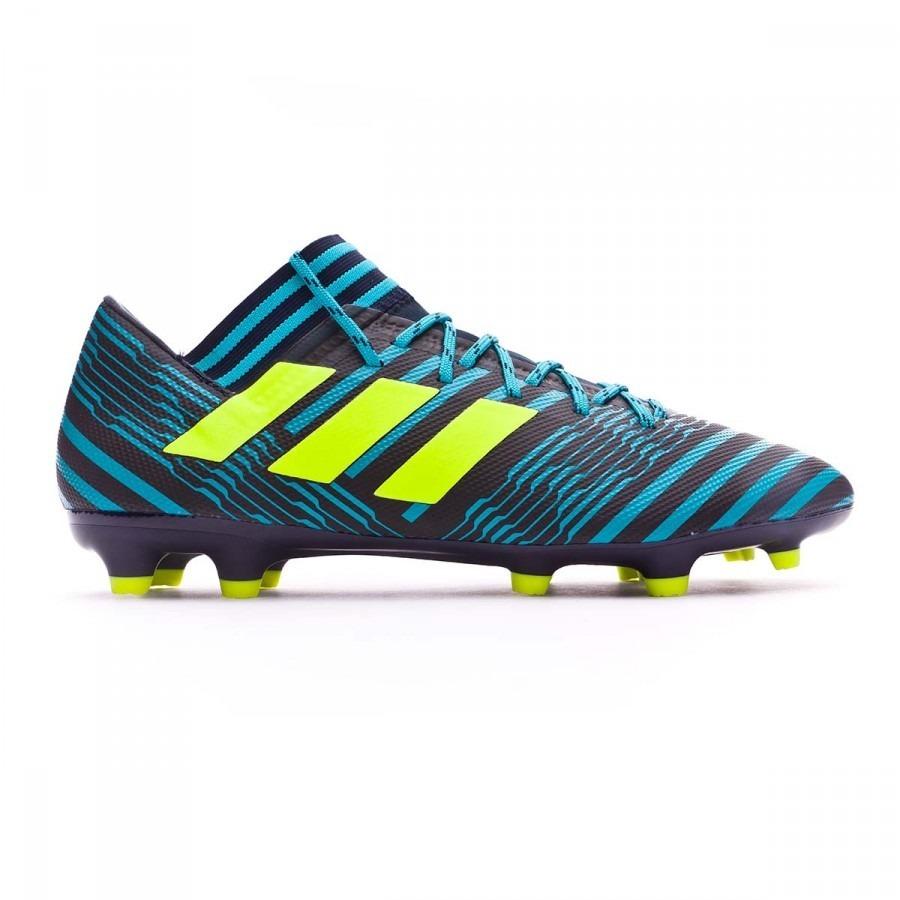 3dd95a27c9ba6 adidas nemeziz 17.3 tacos futbol verde negro nuevos!  28. Cargando zoom.