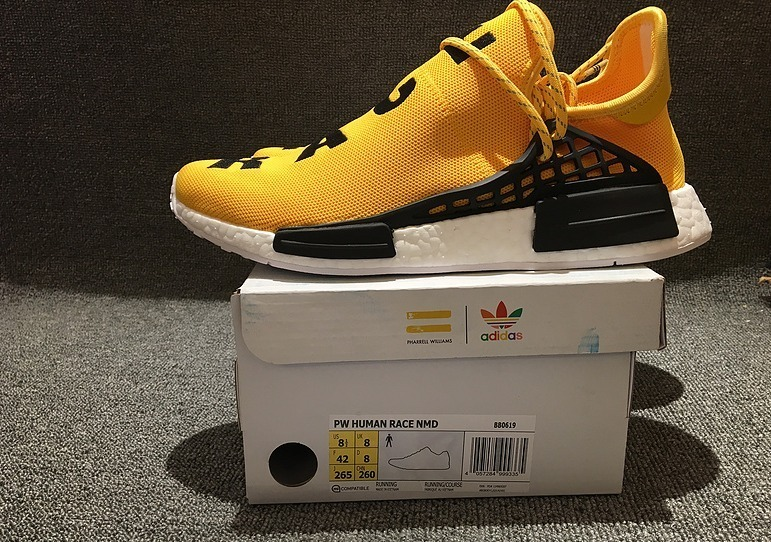 huge selection of c2a1e d65f7 adidas Nmd Hu Pharrell Human Race Yellow