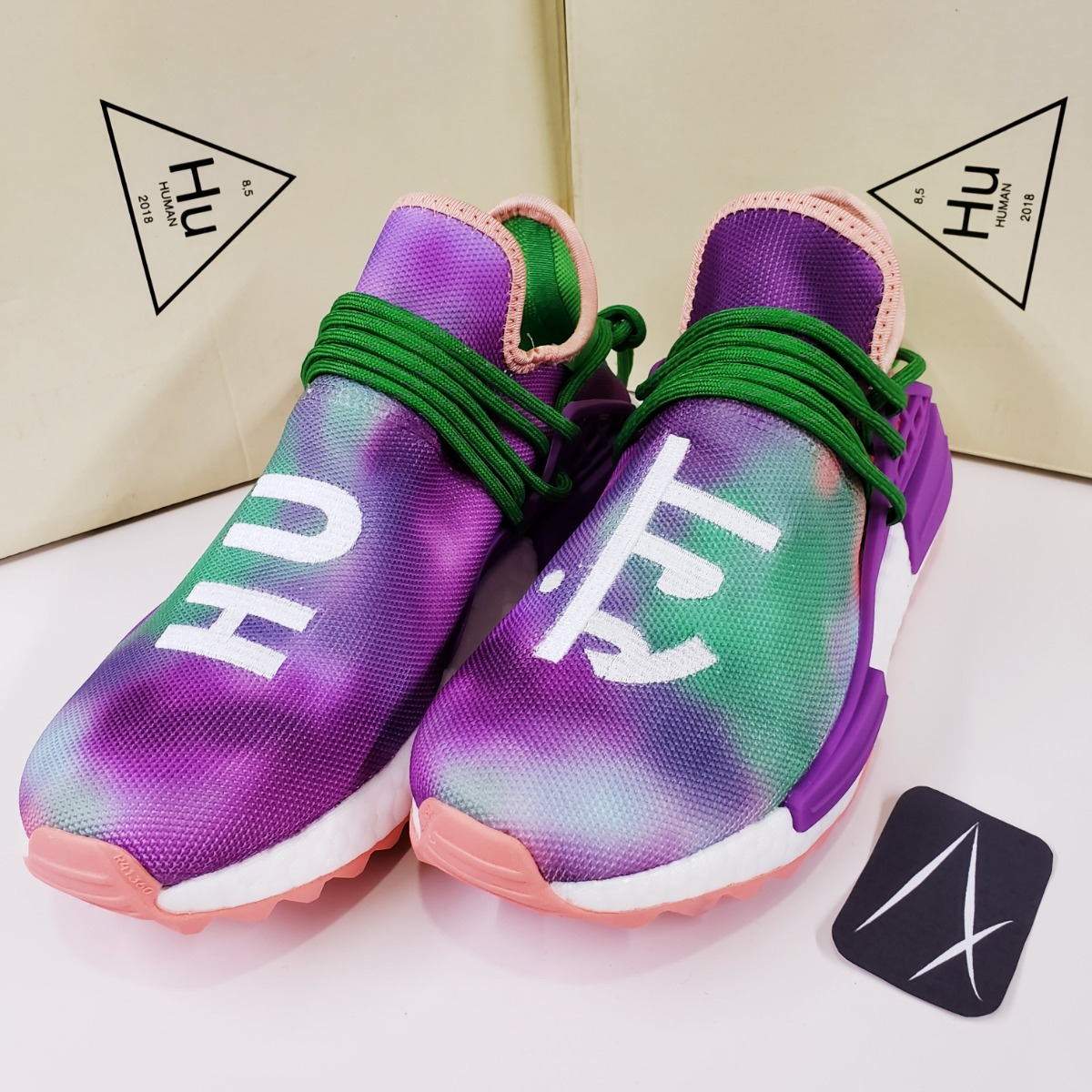 reputable site 0a14f 2e067 adidas Nmd Human Race 1:1 Holi Festival Pharrell Williams
