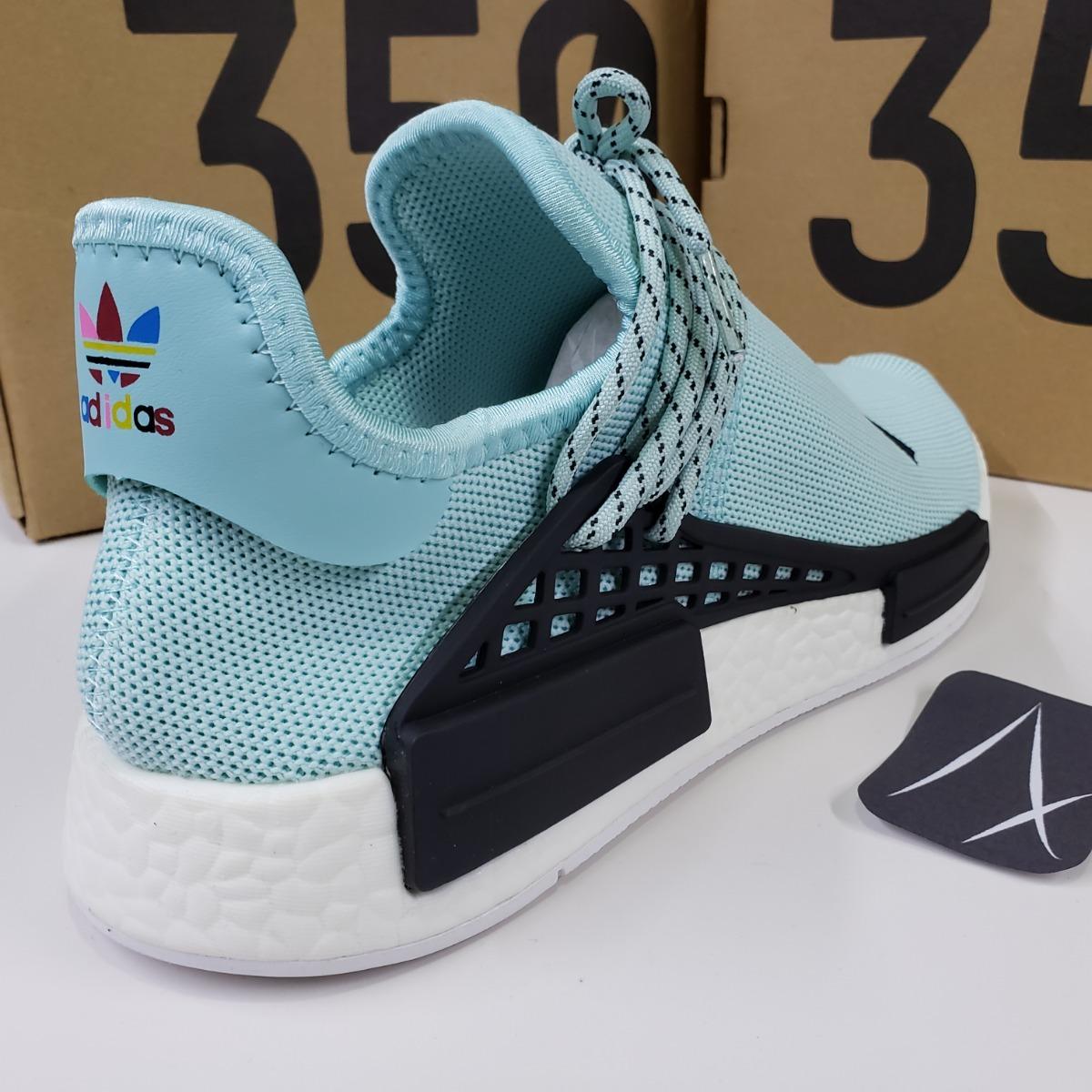 buy popular 9669e e9b51 adidas Nmd Human Race Blue Azules Agua Boost Pharrell