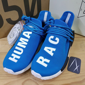 sale retailer f8159 bb2eb adidas Nmd Human Race Blue Azules Reflective Boost Pharrell