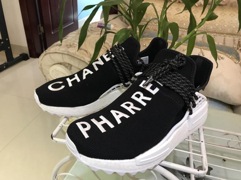 meet 00a91 5dbcb adidas Nmd Human Race Chanel Pharrell Black