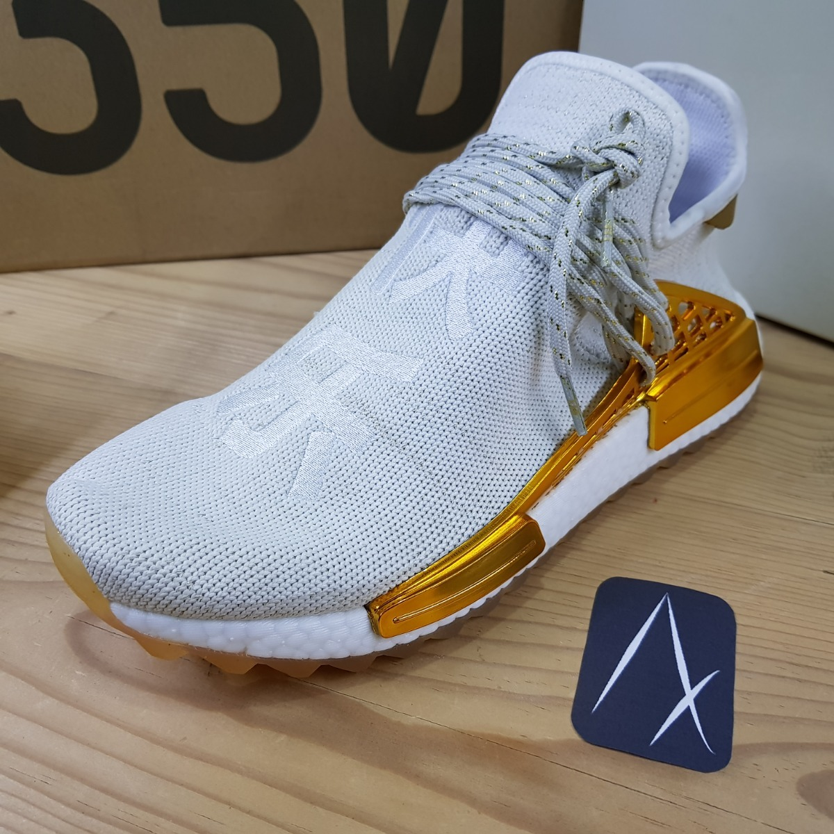 best service e2607 0f0aa adidas Nmd Human Race China Pack Happy Gold Dorado Exclusive